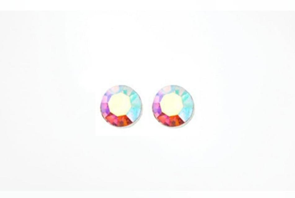 Rainbow Junix Stud Earrings Hypoallergenic