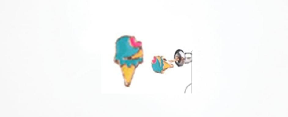 Ice Cream Earrings Hypoallergenic