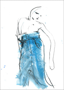 DO ME DENIM 02. original artwork