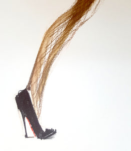 TIGHTS & HEELS- WOLFORD & LOUBOUTIN