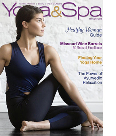 Yoga and Spa Magazine Cover Page