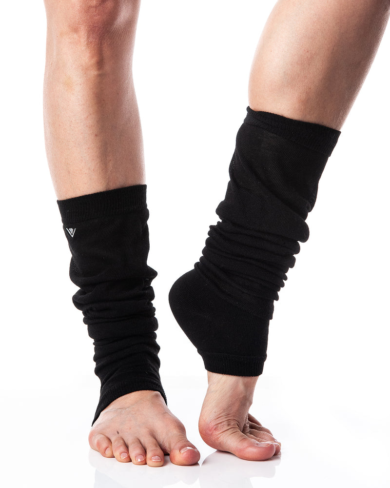 Load image into Gallery viewer, Leg Warmers Vintage Black