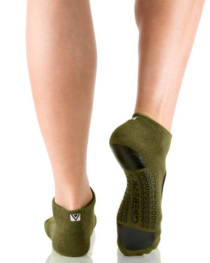 MOTO Closed Toe Army Green