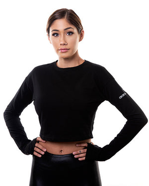 Grip Tops Crop - Black