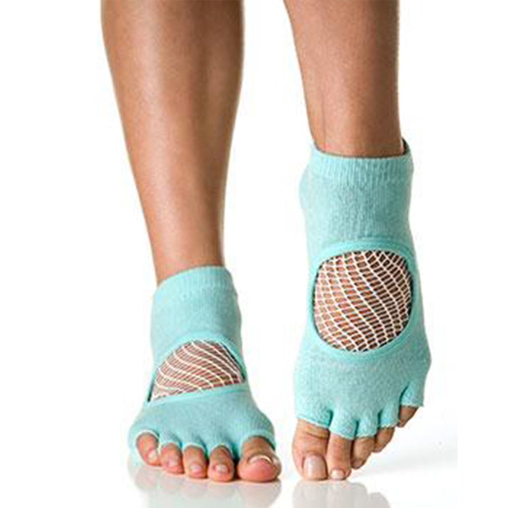 Phish Net Open Toe Aqua - White
