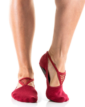Muse Close Toe Burgandy