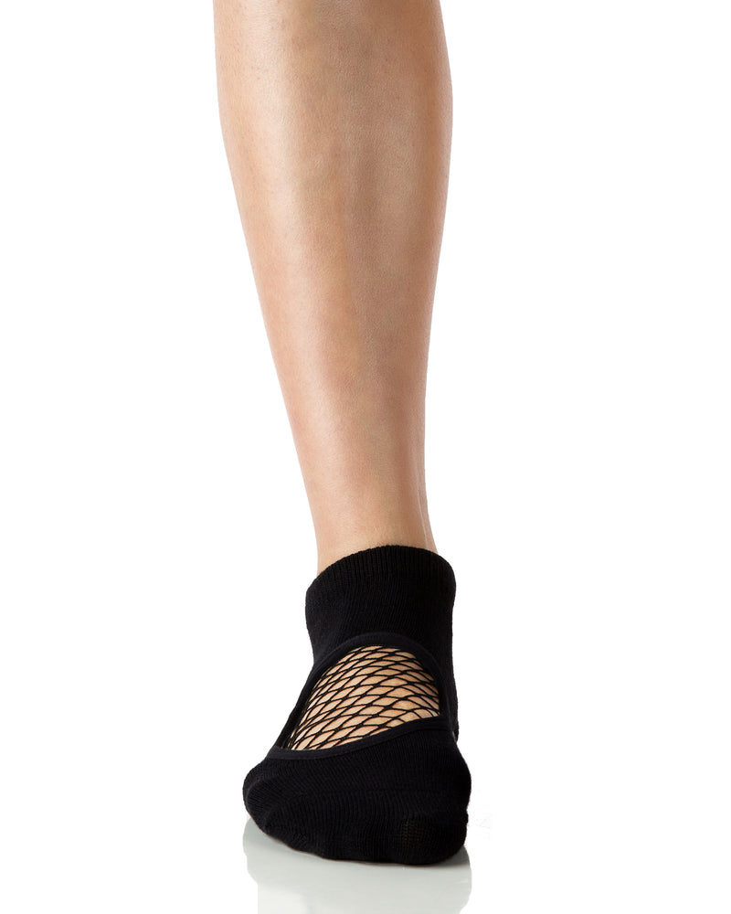 Phish Net Closed Toe Black - Black