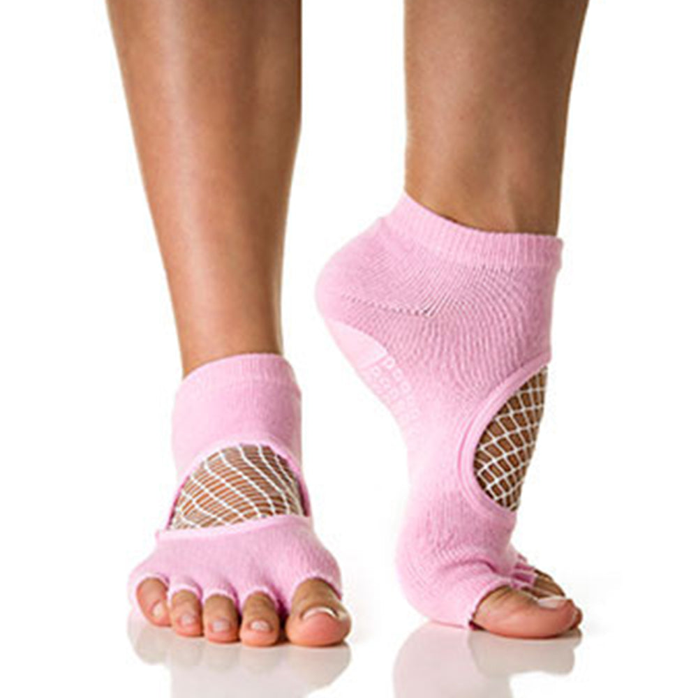 Phish Net Open Toe Pink - White