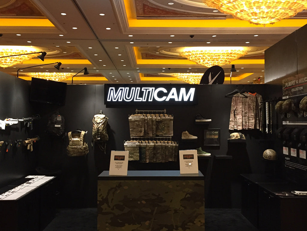 multicam booth at SHOTSHOW