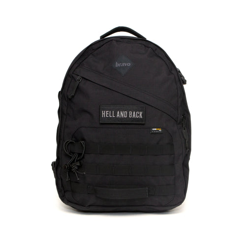 AXIS BLOCK I (BLACK CORDURA) - Bravo Company - A specialty travel and photography driven back pack company. visit www.bravocoworldwide.com for the foxtrot, axis, delta, kilo, and more.