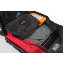 Load image into Gallery viewer, AXIS BLOCK I (BLACK CORDURA) - Bravo Company - A specialty travel and photography driven back pack company. visit www.bravocoworldwide.com for the foxtrot, axis, delta, kilo, and more.