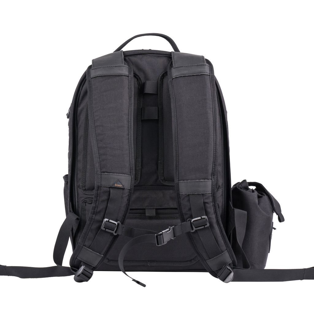 DELTA BLOCK II (BLACK CORDURA) - Bravo Company - A specialty travel and photography driven back pack company. visit www.bravocoworldwide.com for the foxtrot, axis, delta, kilo, and more.