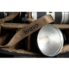 Load image into Gallery viewer, ISO BLOCK I (TAN) - Bravo Company - A specialty travel and photography driven back pack company. visit www.bravocoworldwide.com for the foxtrot, axis, delta, kilo, and more.