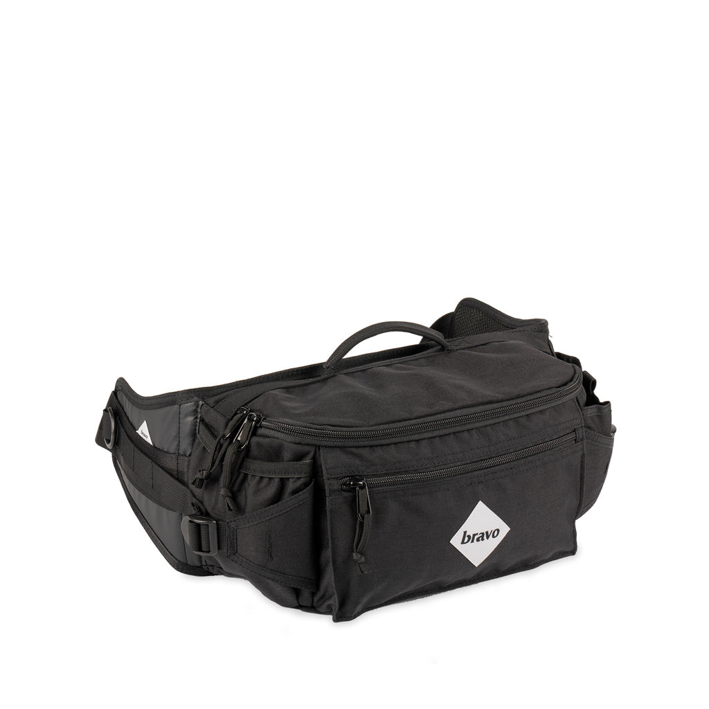 DRIFF BLOCK I (BLACK / WHITE CORDURA)