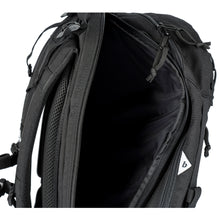 Load image into Gallery viewer, FOXTROT BLOCK II (BLACK / WHITE CORDURA) - Bravo Company - A specialty travel and photography driven back pack company. visit www.bravocoworldwide.com for the foxtrot, axis, delta, kilo, and more.