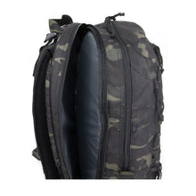 Load image into Gallery viewer, FOXTROT BLOCK IV (MULTICAM BLACK™) - Bravo Company - A specialty travel and photography driven back pack company. visit www.bravocoworldwide.com for the foxtrot, axis, delta, kilo, and more.