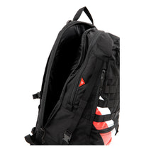 Load image into Gallery viewer, FOXTROT BLOCK II (CORDURA / BLACK / STRIPES) - Bravo Company - A specialty travel and photography driven back pack company. visit www.bravocoworldwide.com for the foxtrot, axis, delta, kilo, and more.
