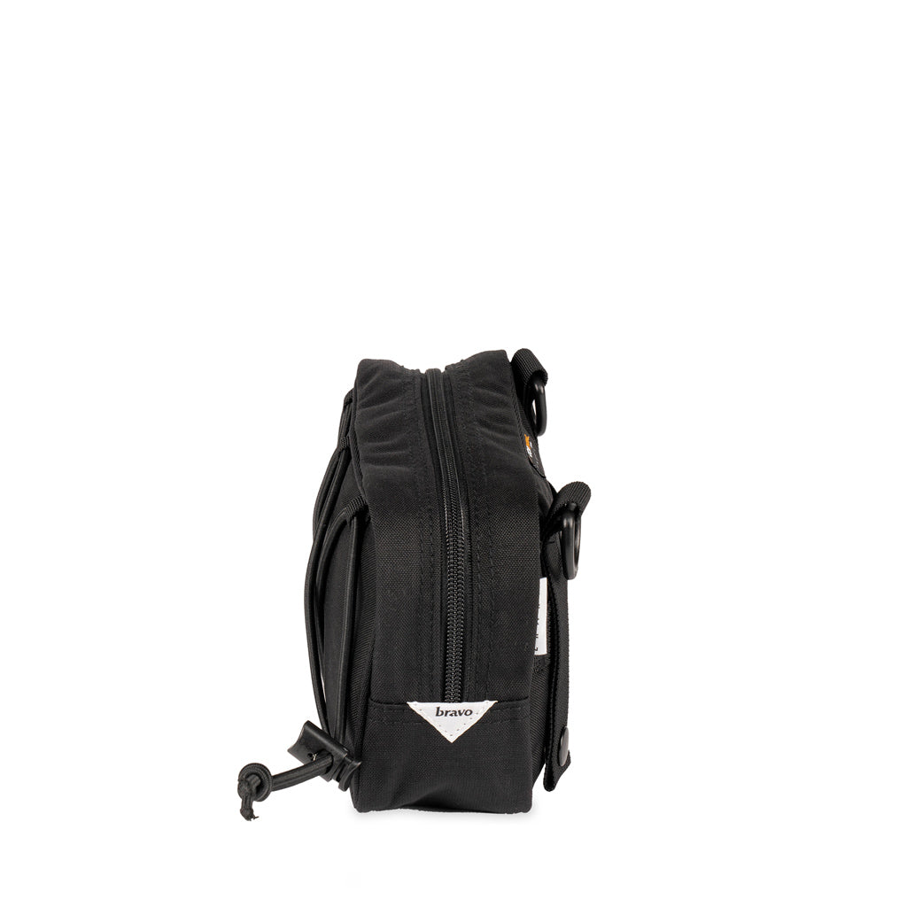 Kilo Block I (BLACK / WHITE CORDURA) - Bravo Company - A specialty travel and photography driven back pack company. visit www.bravocoworldwide.com for the foxtrot, axis, delta, kilo, and more.