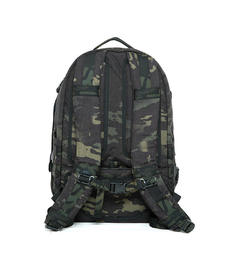 AXIS BLOCK I (MultiCam Black™) - Bravo Company - A specialty travel and photography driven back pack company. visit www.bravocoworldwide.com for the foxtrot, axis, delta, kilo, and more.