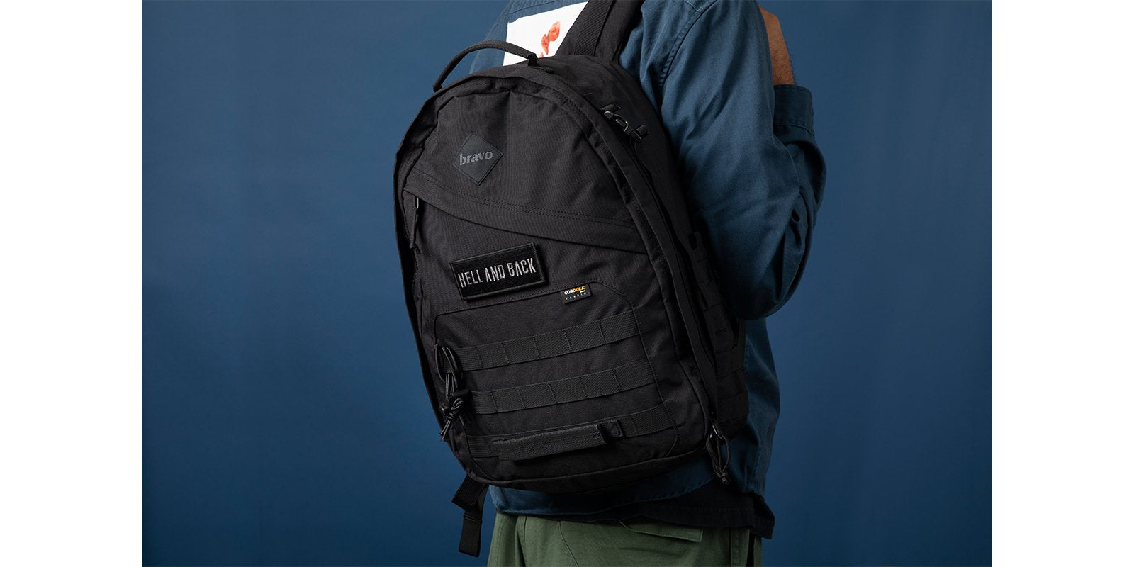 DRIFF BLOCK I in black cordura