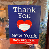 new york mask policy business sign