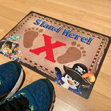 ELEMENTARY SCHOOL Pirate Floor Decals (5 decals)