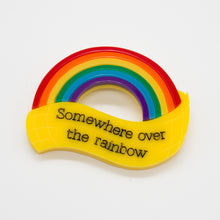 Load image into Gallery viewer, Somewhere Over the Rainbow Brooch, The Wizard of Oz Collection