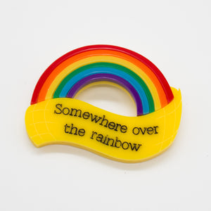 Somewhere Over the Rainbow Brooch, The Wizard of Oz Collection