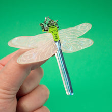 Load image into Gallery viewer, Dragonfly Brooch, Woodland Collection