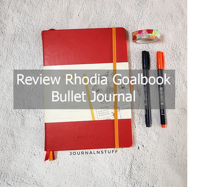 Review Rhodia Hardcover bullet journal