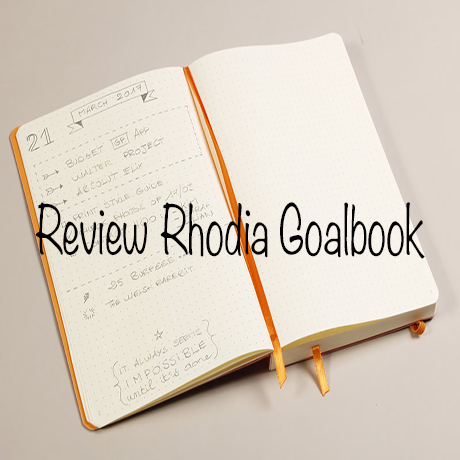Review Rhodia Goalbook Bullet Journal