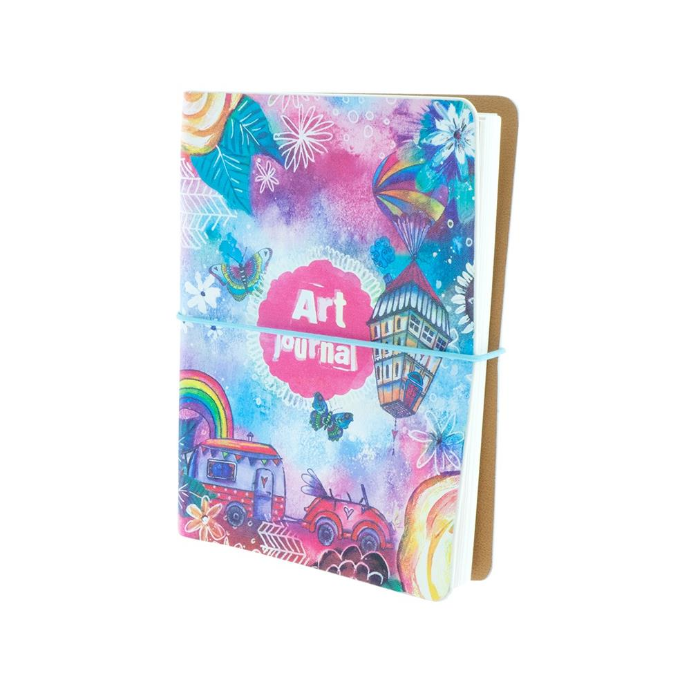 Studio Light - Ringbinder Art Journal Art By Marlene