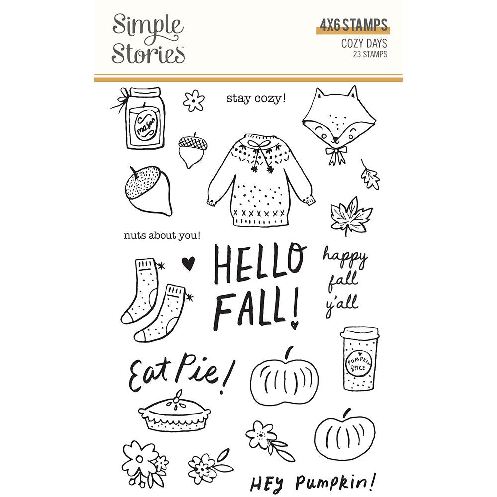 Clear Stempel - Cozy Days