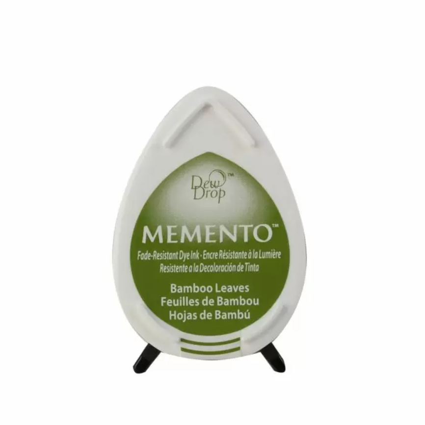 Tsukineko  Memento Dew Drop Ink Pad - Bamboo Leaves