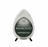 Tsukineko  Memento Dew Drop Ink Pad - Northern Pine