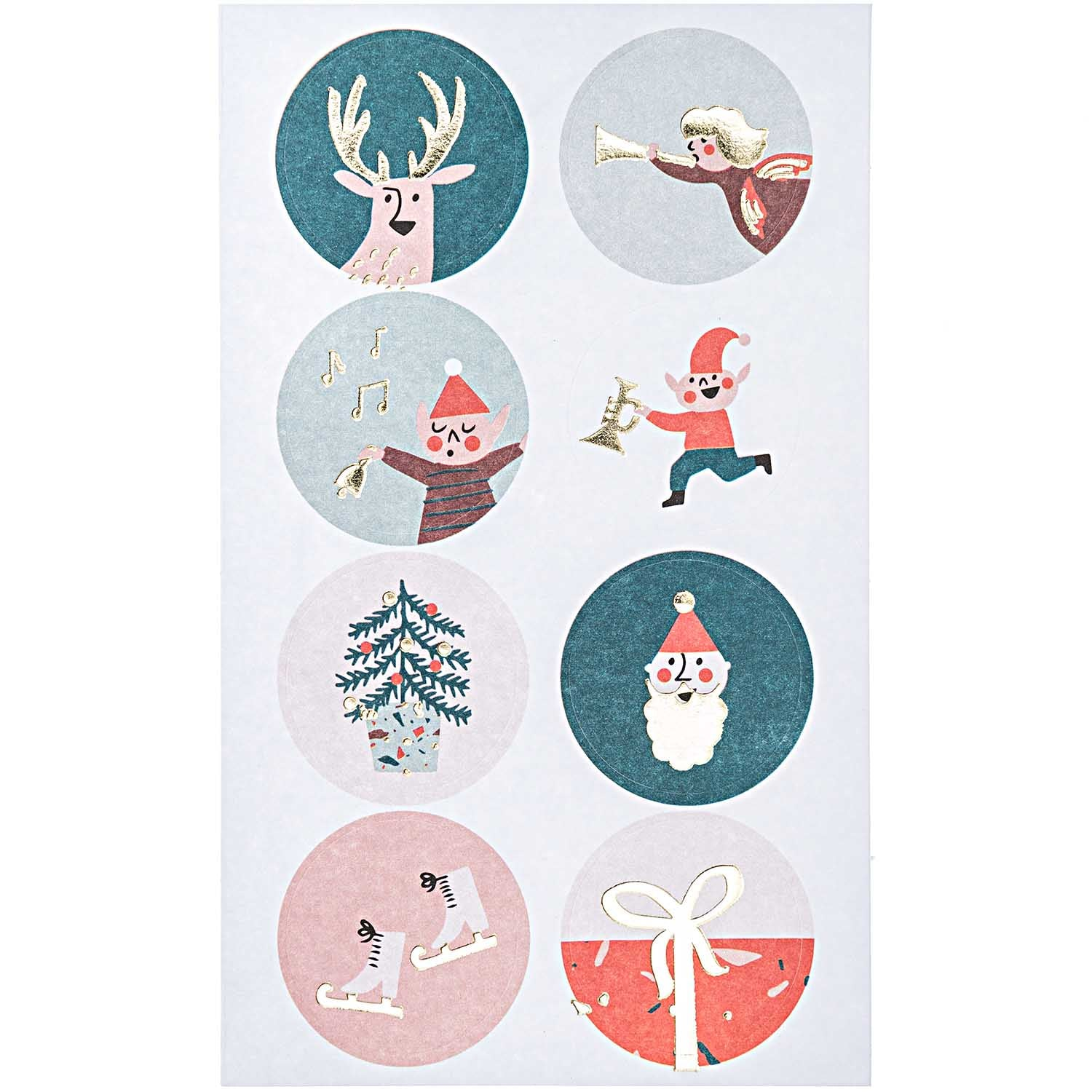 Paper Poetry Jolly Christmas Stickers - Christmas Classic
