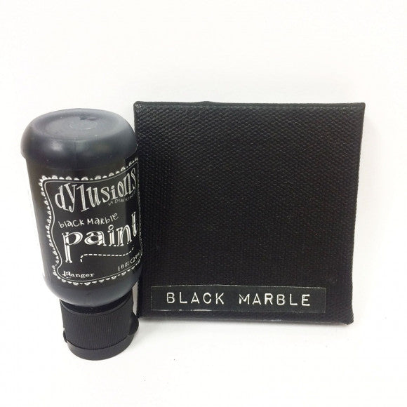 Ranger - Dylusions Flip cap bottle acrylic paint 29 ml - Black Marble