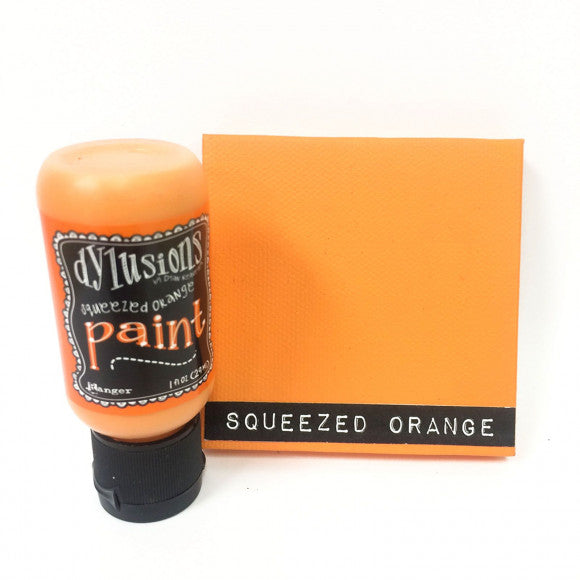 Ranger - Dylusions Flip cap bottle acrylic paint 29 ml - Squeezed orange