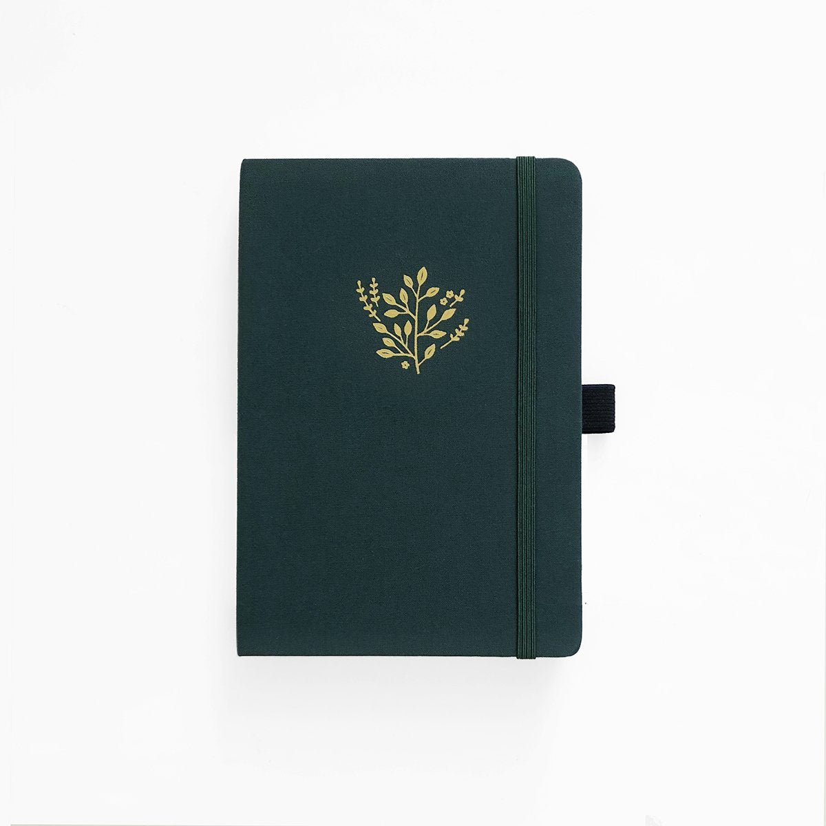 Archer & Olive  Dotted Notitieboek A5 - Deep Green