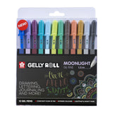 Sakura Gelly Rolls Moonlight 06 Set van 12 - Cosmos