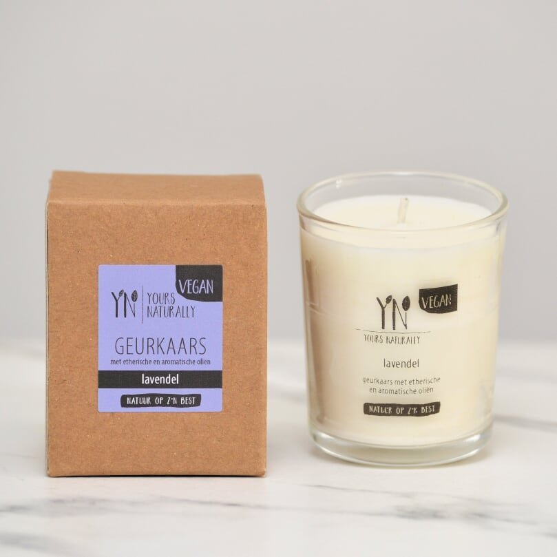 Yours Naturally Geurkaars votive - Lavendel