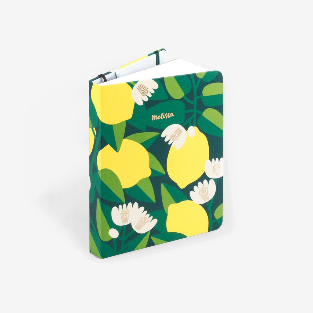 Mossery Threadbound Dotted Notitieboek - Lemon Tree - JournalnStuff