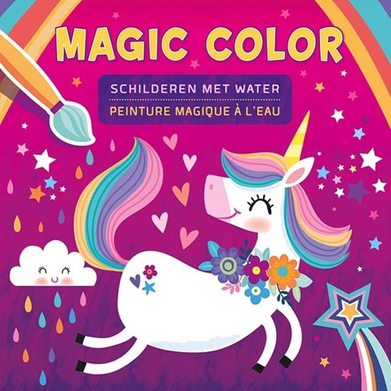 Kleurboek - Magic Color schilderen met water