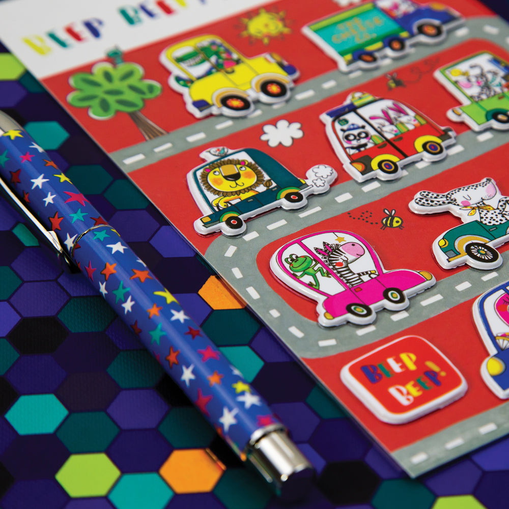 Puffy Stickers Auto's en dieren