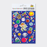 Puffy Stickers Space Adventures