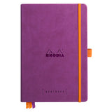 Goalbook A5 met ivoor dotted papier - Purple - JournalnStuff