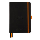 Rhodia Goalbook A5 met wit dotted papier - Black