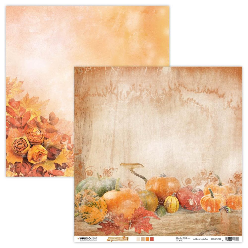 Scrap Papier - Wonderful Autumn nr. 88