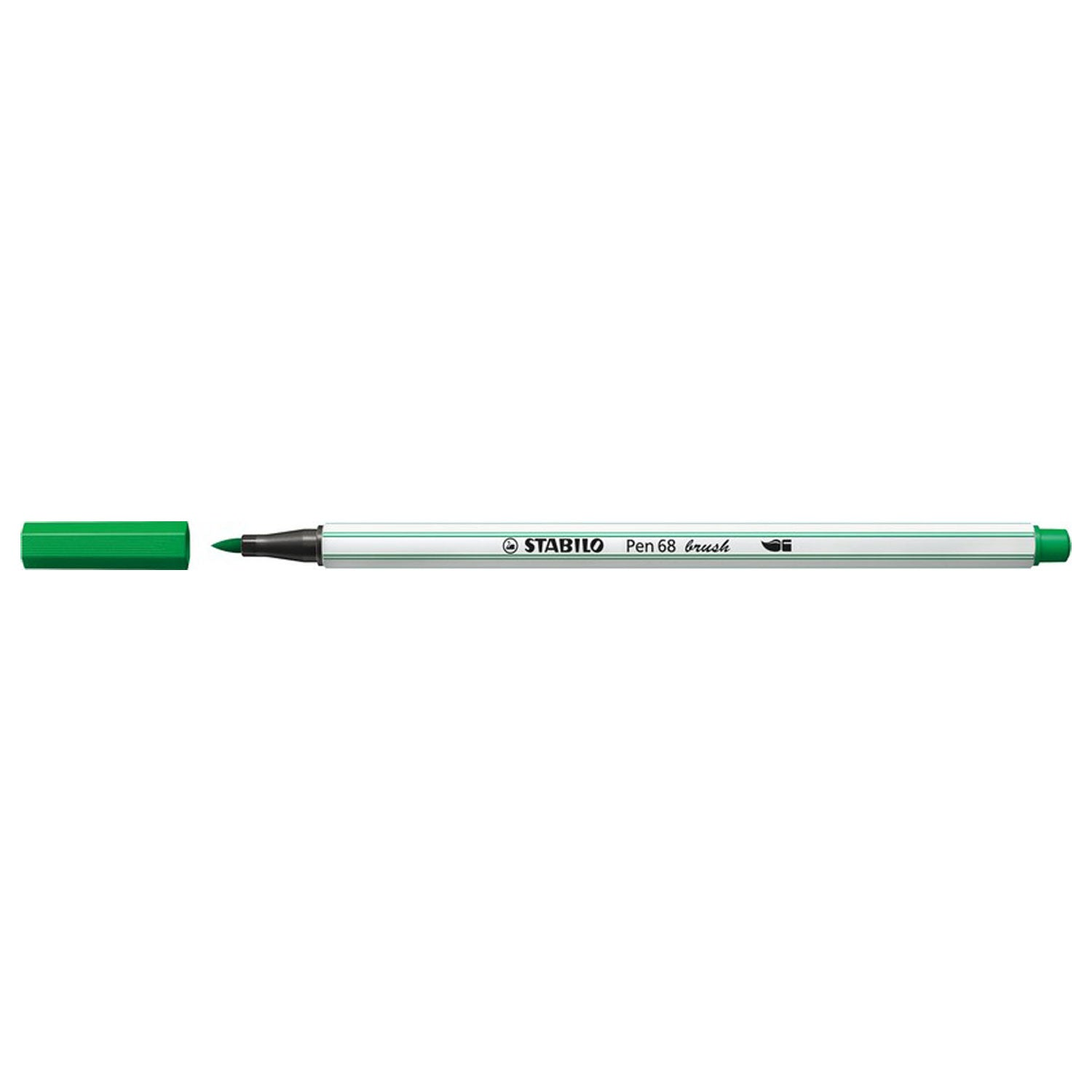 Stabilo Pen 68 Brush - 36 Groen - JournalnStuff