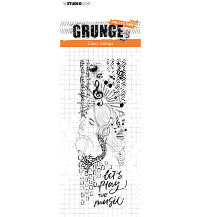 Clear Stamp - Studio Light Grunge Collection nr.498